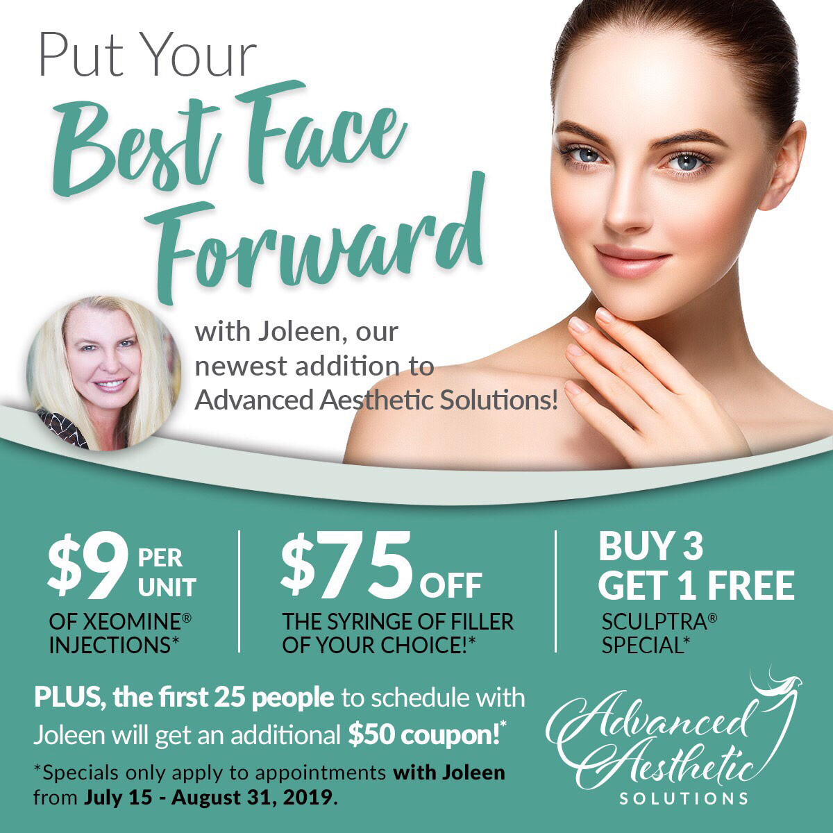 Advanced Aesthetics Solutions MedSpa Specials